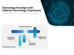 Technology Paradigm With Different Technology Trajectories
