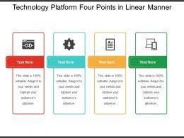 technology_platform_four_points_in_linear_manner_Slide01