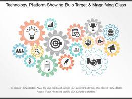 technology_platform_showing_bulb_target_and_magnifying_glass_Slide01