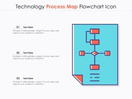 Technology Process Map Flowchart Icon