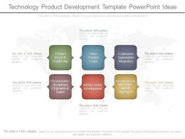 Technology Product Development Template Powerpoint Ideas