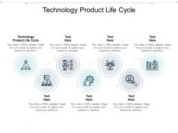 Technology Product Life Cycle Ppt Powerpoint Presentation Icon Infographics Cpb