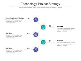 Technology Project Strategy Ppt Powerpoint Presentation Icon Images Cpb