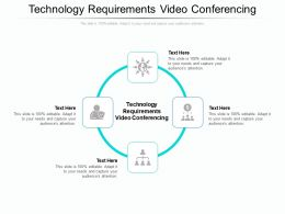 Technology Requirements Video Conferencing Ppt Powerpoint Presentation Portfolio Background Cpb