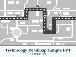 Technology Roadmap Sample Ppt Powerpoint Presentation Slides
