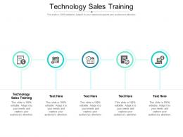 Technology Sales Training Ppt Powerpoint Presentation Gallery Graphics Tutorials Cpb