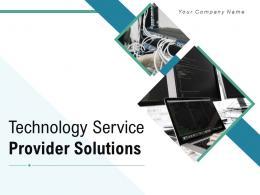 Technology Service Provider Solutions Powerpoint Presentation Slides