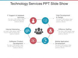 Technology Services Ppt Slide Show