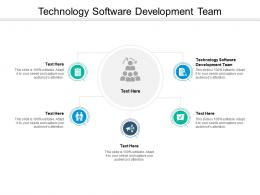 Technology Software Development Team Ppt Powerpoint Presentation Infographic Template Examples Cpb