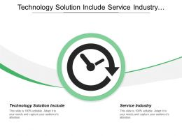 Technology Solution Include Service Industry Project Job Costing