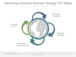 Technology Solutions Business Strategy Ppt Slides