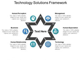 Technology Solutions Framework Presentation PowerPoint Example
