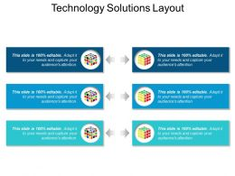 Technology Solutions Layout Sample Ppt Files
