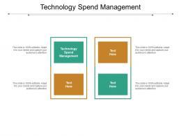 Technology Spend Management Ppt Powerpoint Presentation Inspiration Slide Portrait Cpb