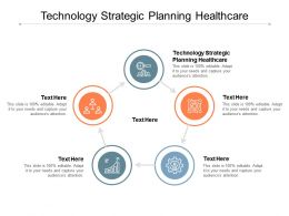 Technology Strategic Planning Healthcare Ppt Powerpoint Presentation Visual Aids Deck Cpb