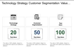 Technology Strategy Customer Segmentation Value Proposition Strategy Priorities