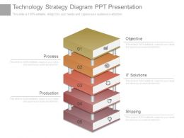 Technology Strategy Diagram Ppt Presentation
