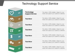 Technology Support Service Ppt Powerpoint Presentation Icon Graphic Images Cpb