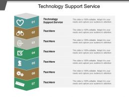 Technology Support Service Ppt Powerpoint Presentation Layouts Images Cpb