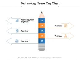 Technology Team Org Chart Ppt Powerpoint Presentation Infographics Graphics Design Cpb