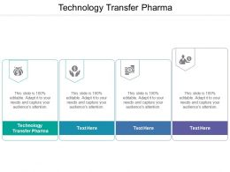 Technology Transfer Pharma Ppt Powerpoint Presentation Pictures Templates Cpb