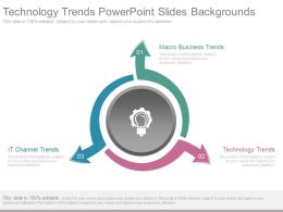 Technology Trends Powerpoint Slides Backgrounds