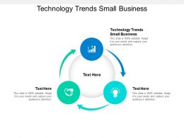 Technology Trends Small Business Ppt Powerpoint Presentation Model Example Cpb