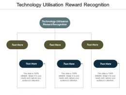 Technology Utilisation Reward Recognition Ppt Powerpoint Presentation Infographics Sample Cpb