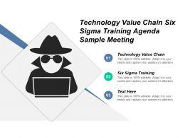 technology_value_chain_six_sigma_training_agenda_sample_meeting_cpb_Slide01