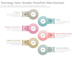 Technology Vision Template Powerpoint Slide Download