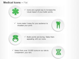 Teeth Health Nurse Dna Ppt Icons Graphics