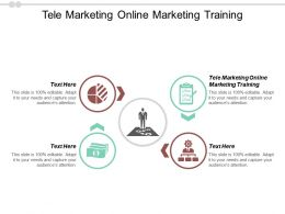 Tele Marketing Online Marketing Training Ppt Powerpoint Presentation Layouts Graphic Tips Cpb