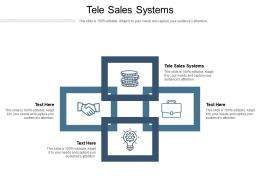 Tele Sales Systems Ppt Powerpoint Presentation Styles Infographic Template Cpb