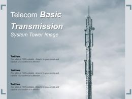 Telecom Basic Transmission System Tower Image