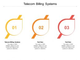 Telecom Billing Systems Ppt Powerpoint Presentation Professional Pictures Cpb
