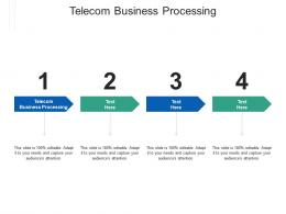 Telecom Business Processing Ppt Powerpoint Presentation Model Templates Cpb