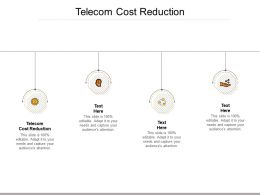 Telecom Cost Reduction Ppt Powerpoint Presentation Layouts Example Introduction Cpb