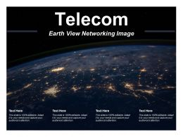 Telecom Earth View Networking Image