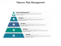 Telecom Risk Management Ppt Powerpoint Presentation Layouts Icons Cpb
