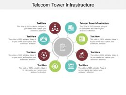 Telecom Tower Infrastructure Ppt Powerpoint Presentation Model Infographics Cpb
