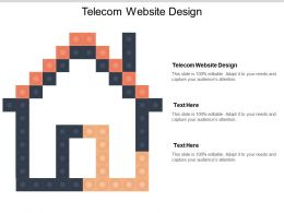 Telecom Website Design Ppt Powerpoint Presentation Outline Introduction Cpb