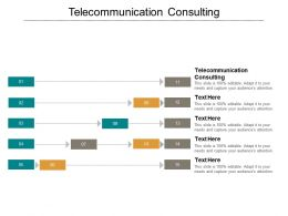 Telecommunication Consulting Ppt Powerpoint Presentation Inspiration Visuals Cpb