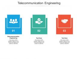 Telecommunication Engineering Ppt Powerpoint Presentation Pictures Example Topics Cpb