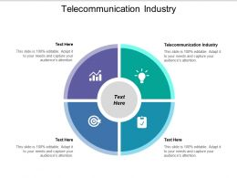 Telecommunication Industry Ppt Powerpoint Presentation Summary Example Topics Cpb