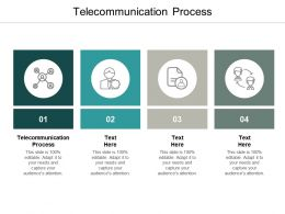 Telecommunication Process Ppt Powerpoint Presentation Gallery Deck Cpb