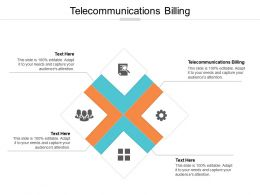 Telecommunications Billing Ppt Powerpoint Presentation Infographic Template Format Cpb