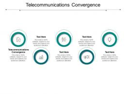 Telecommunications Convergence Ppt Powerpoint Presentation Layouts Background Cpb