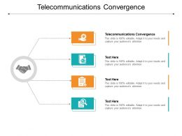 Telecommunications Convergence Ppt Powerpoint Presentation Pictures Smartart Cpb