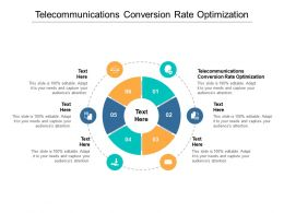 Telecommunications Conversion Rate Optimization Ppt Powerpoint Design Ideas Cpb