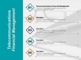 Telecommunications Financial Management Ppt Powerpoint Presentation Pictures Design Inspiration Cpb